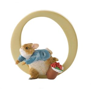 Beatrix Potter Alphabet Letter O - Peter Rabbit