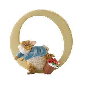 Beatrix Potter Alphabet Letter O - Peter Rabbit