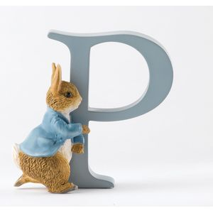 Beatrix Potter Alphabet Letter P - Running Peter Rabbit