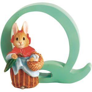 Beatrix Potter Alphabet Letter Q - Mrs Rabbit