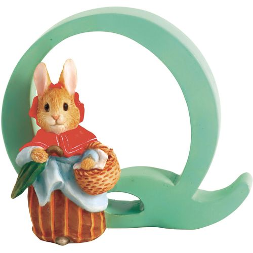 Beatrix Potter Letter Q - Mrs. Rabbit Figurine