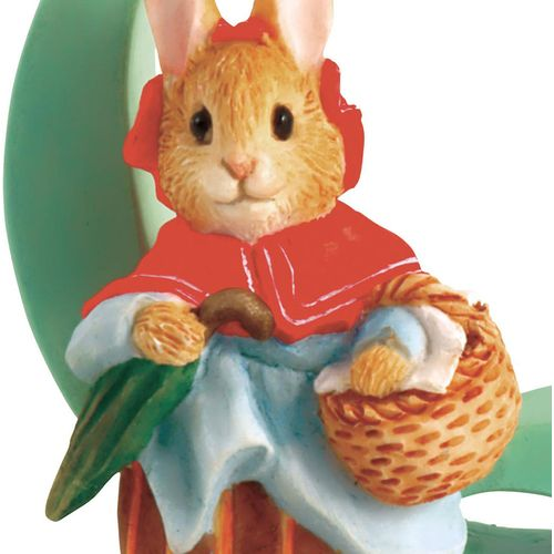 Beatrix Potter Letter Q - Mrs. Rabbit Figurine