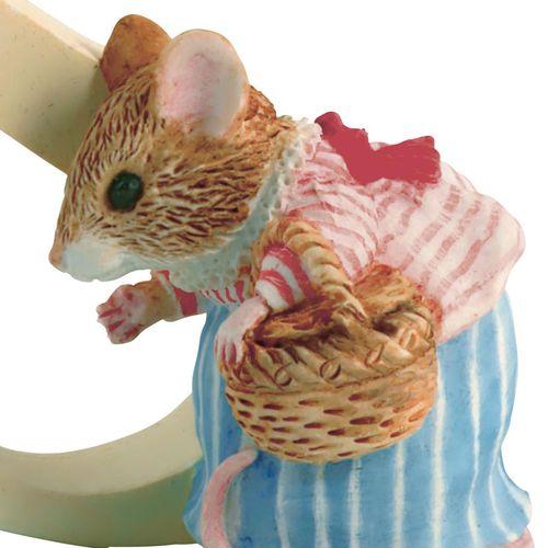 Beatrix Potter Letter S - Mrs. Tittlemouse Figurine