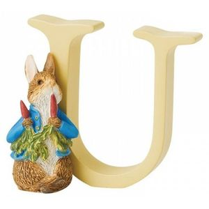 Beatrix Potter Alphabet Letter U - Peter Rabbit