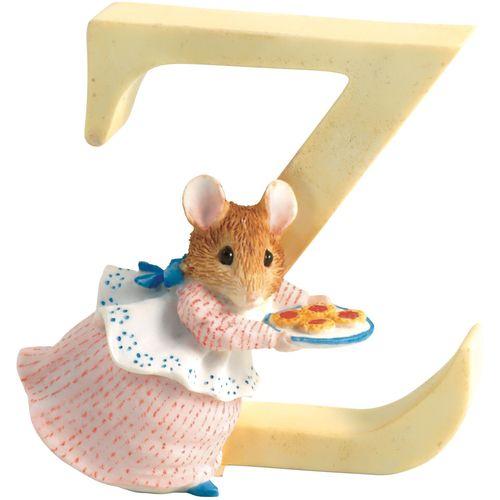 Beatrix Potter Letter Z - Appley Dapply Figurine