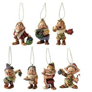 Disney Traditions Hanging Ornaments Set - Snow Whites 7 Dwarfs