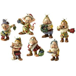 Disney Traditions Set of 7 Dwarfs Hanging Tree Ornament