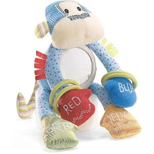 GUND Baby Jax Monkey Activity Toy