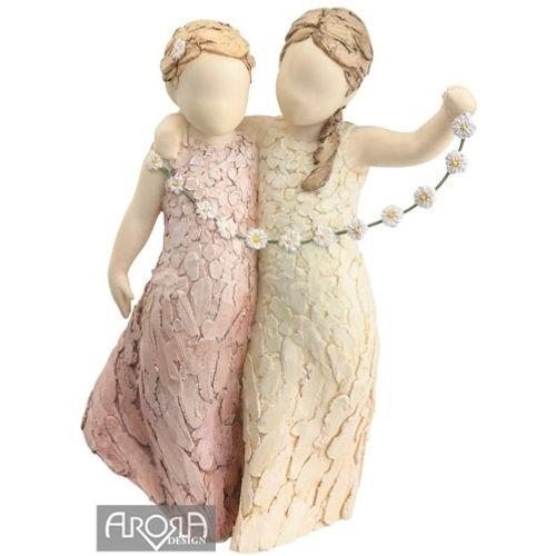More Than Words Figurine Friendship  by Arora Design