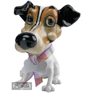 Little Paws Wilf the Jack Russell Dog Figurine