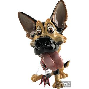Little Paws Saskia German Shepherd Dog Figurine