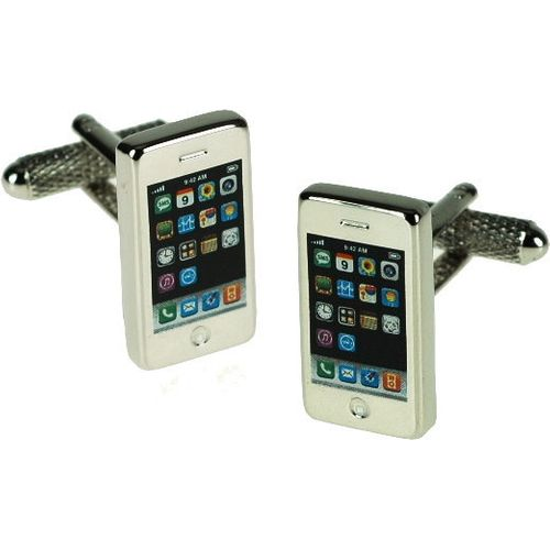iPhone novelty gift cufflinks