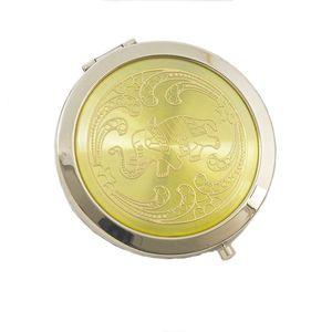 Compact Mirror Elephant Design