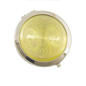 Compact Mirror - Gold Elephant