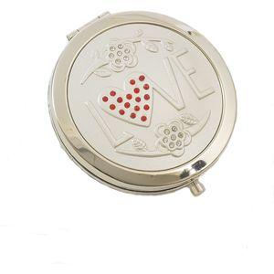 Compact Mirror LOVE Design