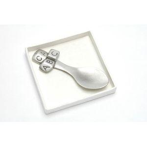 ABC Baby Pewter decorative spoon