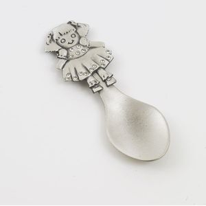 English Pewter Decorative Spoon - Ragdoll