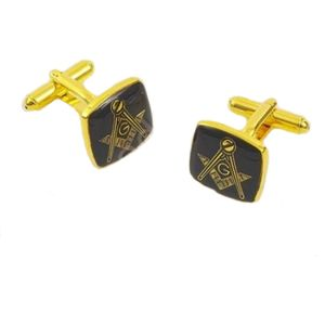 "Masonic ""G"" Cufflinks - Black"
