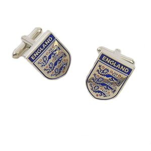 England 3 Lions Football Badge Cufflinks