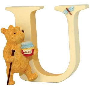 Winnie The Pooh Alphabet Letter U - Pooh Walking