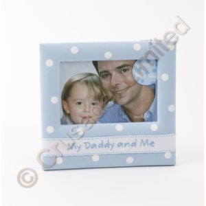 My Daddy & me Photo Frame (Blue)
