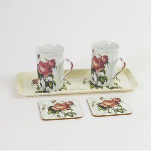 Tea For Two Peony Mugs Gift Set
