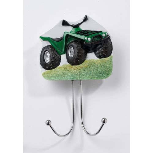 Country Artists Green Farm All Terrain Vehicle ATV  Wall Hook Ref. CA03438