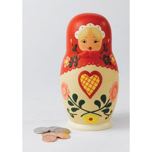 Ceramic Money Bank - Matryoshka Doll