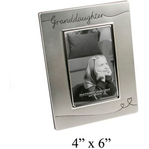 Granddaughter Photo Frame 4x6""