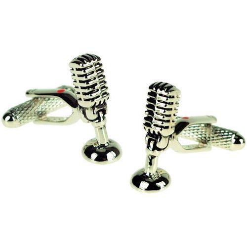 Microphone  Novelty Cufflinks in gift box