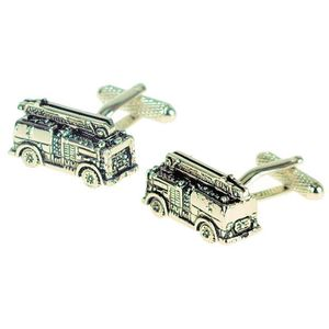 Fire Engine Cufflinks