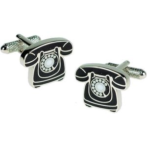Classic British Telephone Cufflinks