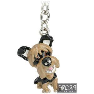Little Paws Yorkie Dog Keyring
