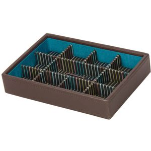Stackers Mens Brown Cufflink Stacker