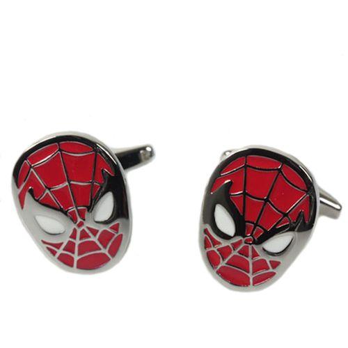 Novelty Spiderman Cufflinks