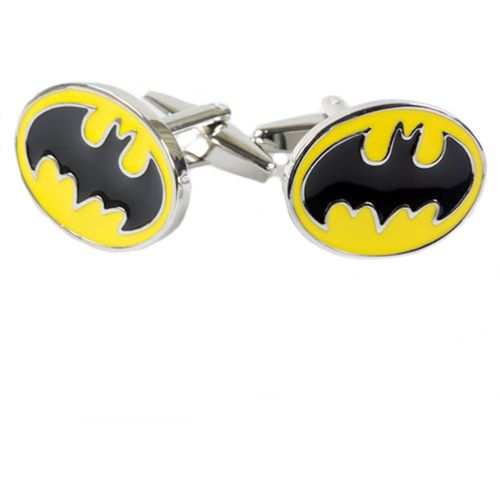 Novelty Cufflinks with the Batman motif