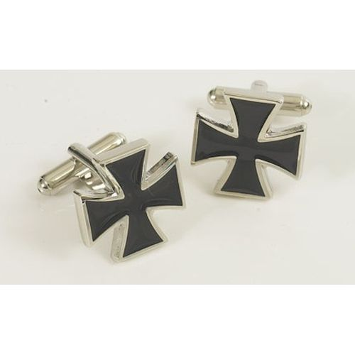 Masonic Black & Gold Cufflinks