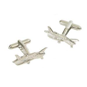 Small Plane Flying Cufflinks