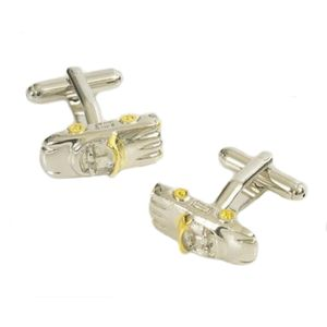 Racing Convertible Sports Car Cufflinks