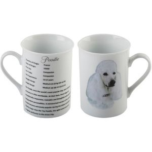 Best of Breed Fine China Mug - Poodle