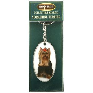 Best of Breed Yorkshire Terrier Keyring