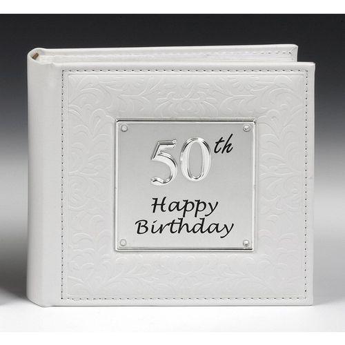 50th Happy Birthday Deluxe Photo Album