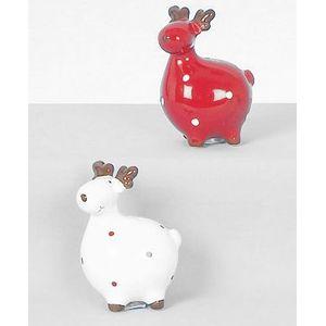 Christmas Tableware - Salt & Pepper Pots Reindeer