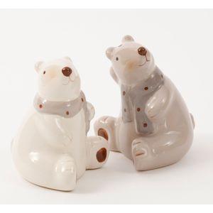 Christmas Tableware - Salt & Pepper Pots Polar Bears