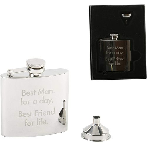 Best Man Hip flask