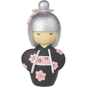 Gleneagles Studio Japanese Collection Hina Doll Figurine - Black
