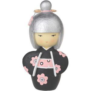 Japanese Collection Hina Doll Figurine (black)