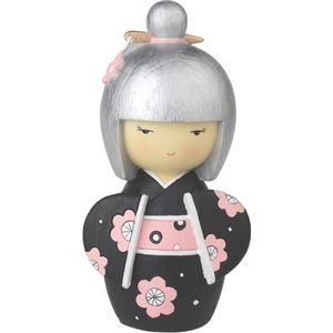 Gleneagles Studio Japanese Collection Hina Doll Money Box - Black