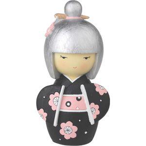 Japanese Collection Hina Doll Money Box (black)