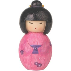 Gleneagles Studio Japanese Collection Hina Doll Figurine - Pink